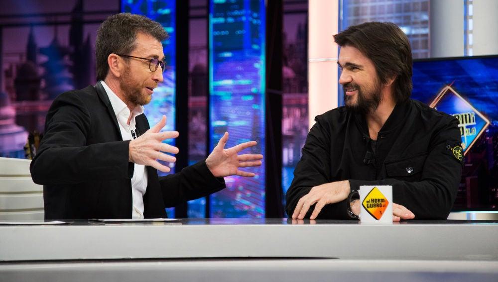 La sincera opinión de Juanes en 'El Hormiguero 3.0' sobre Medellín y 'Narcos'
