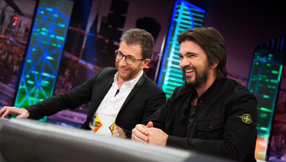 Pablo Motos descubre en 'El Hormiguero 3.0' la gran afición de Juanes cuando está de fiesta