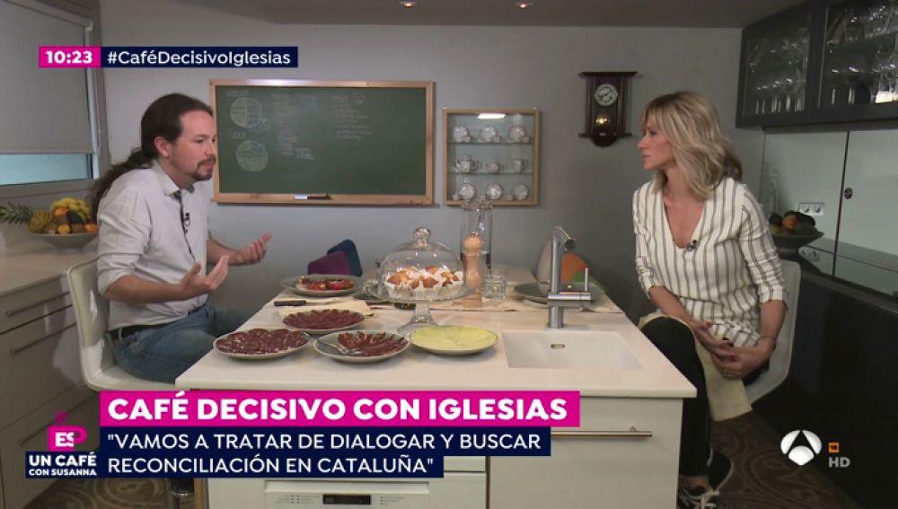 """Pablo Iglesias sobre Cataluña: """"Esto no se va a resolver a palos"""""""