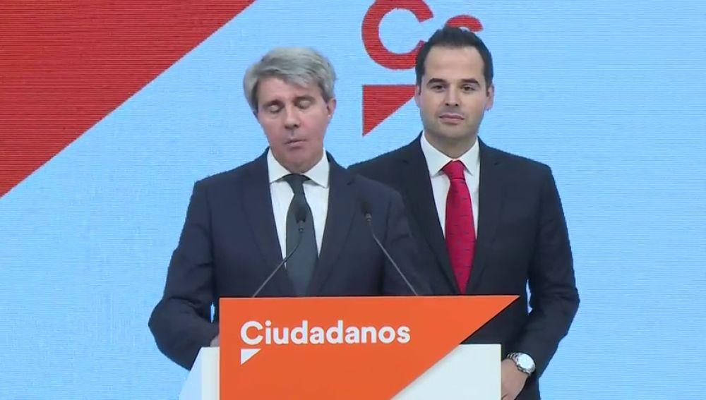 Ciudadanos ficha a Ángel Garrido, expresidente de la Comunidad de Madrid por el PP