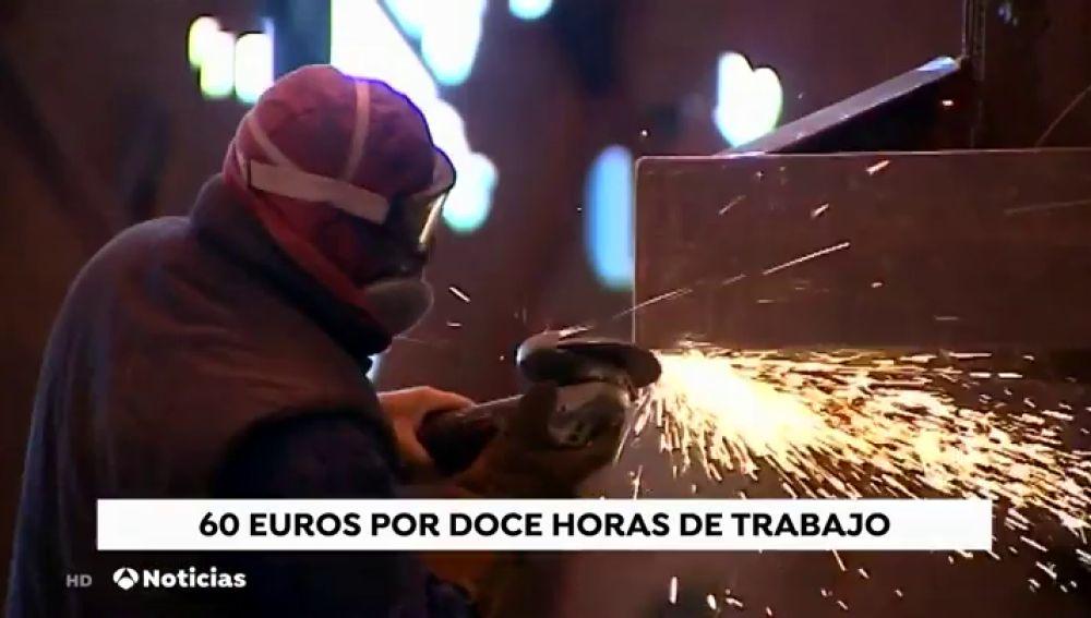 Varias llamadas telefónicas retratan la precariedad laboral en una empresa de la Bahía de Cádiz: 60 euros por 12 horas de trabajo