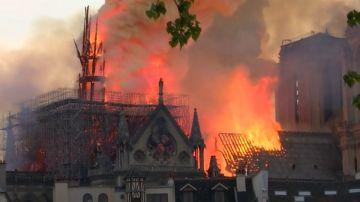 Encuentran colillas en los andamios de Notre Dame
