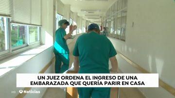 Un juez impide que una mujer embarazada dé a luz en su casa y ordena su ingreso en un hospital