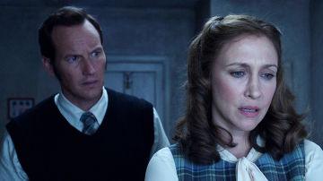 Patrick Wilson y Vera Farmina en 'Expediente Warren: El Caso Enfield'