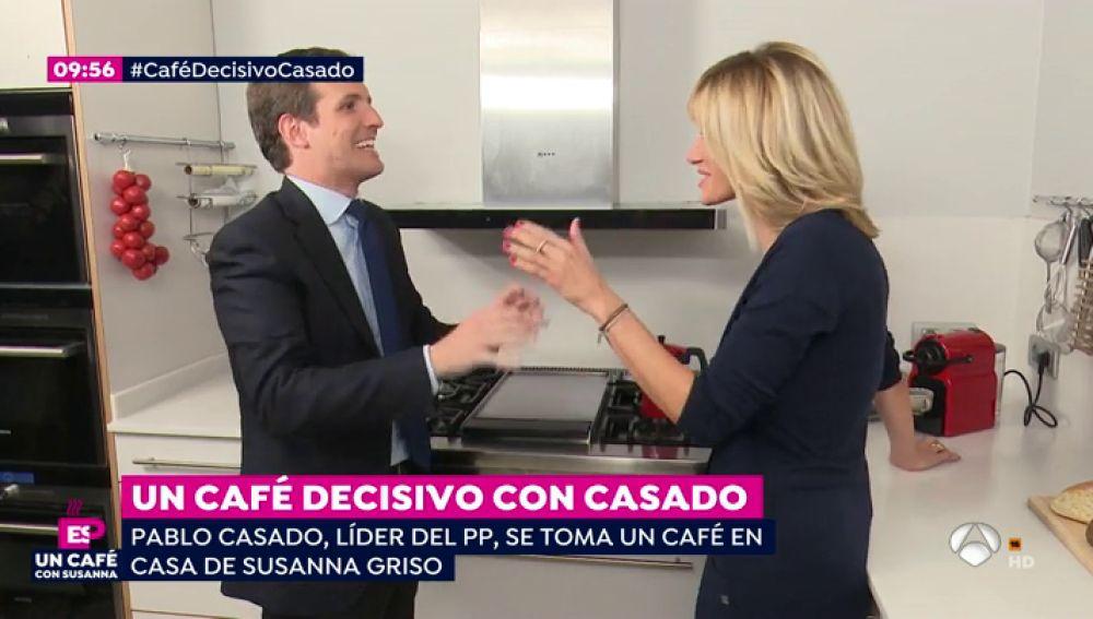 Pablo Casado con Susanna Griso