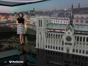 Realidad virtual de la rehabilitación de Notre Dame