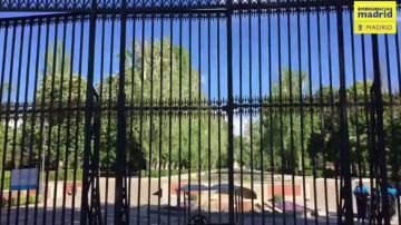 Cerrado el Retiro y otros parques de Madrid por riesgo de caída de árboles y ramas