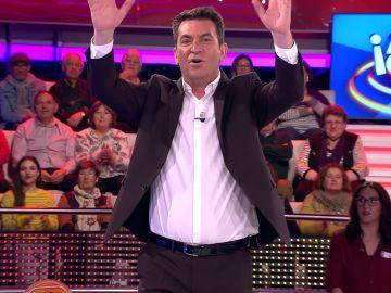 Arturo Valls manda un saludo a su homónimo italiano en '¡Ahora caigo!'