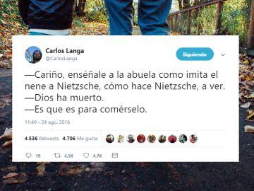 Los mejores tuits de Carlos Langa