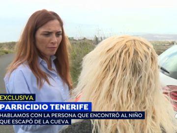 """La mujer que encontró al niño que huyó del crimen de su madre y su hermano en Tenerife: """"Repetía papá y mamá"""""""