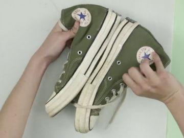 Cómo devolverle el blanco a la goma de las zapatillas deportivas
