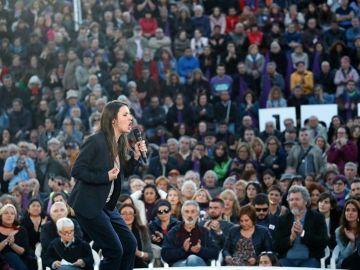 La número dos de Unidas Podemos al Congreso por Madrid, Irene Montero