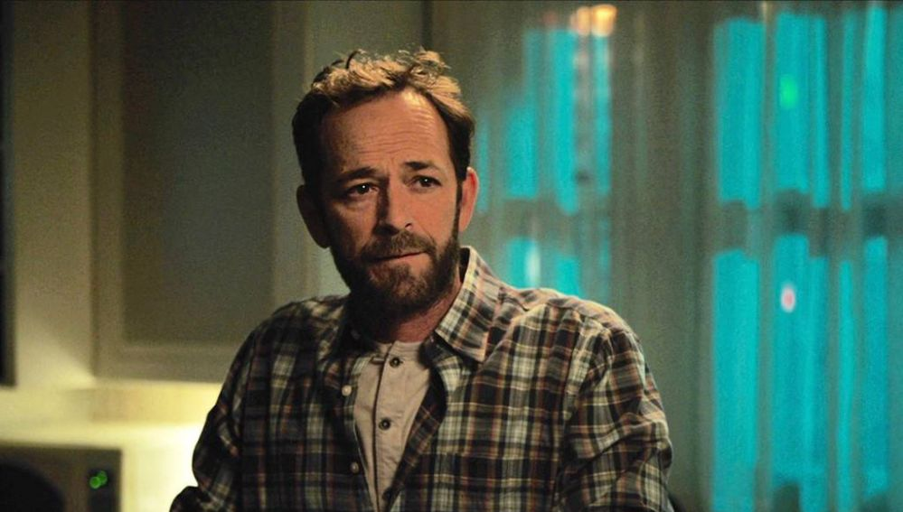 Luke Perry en su último episodio de 'Riverdale'