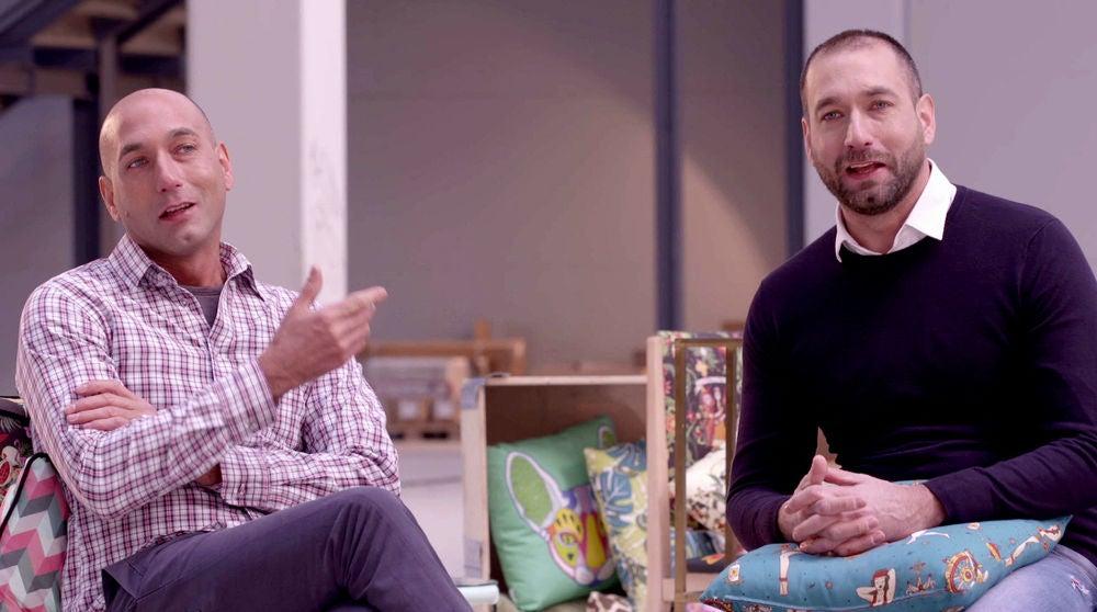 Iván y Albert Gálvez, dos gemelos iguales pero muy diferentes en 'Masters de la reforma'