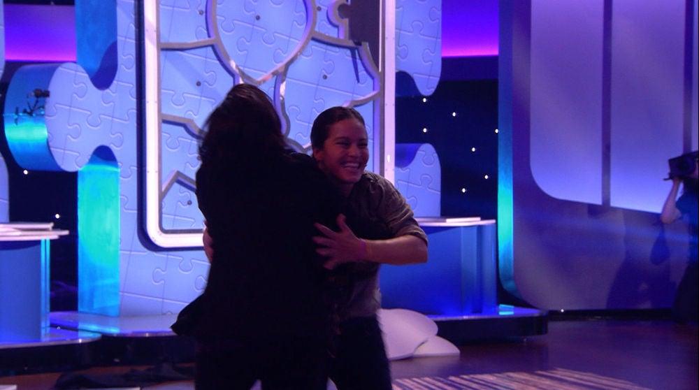 Diana, ganadora de 'Menuda pieza' gracias a la cara de Silvia Abril