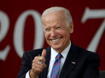 El exvicepresidente de Estados Unidos Joe Biden