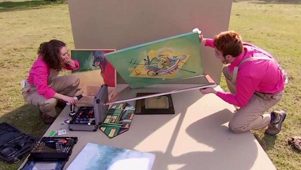 Las 'trampas' de Álex y Naomi en 'Masters de la reforma'Las 'trampas' de Álex y Naomi en 'Masters de la reforma'