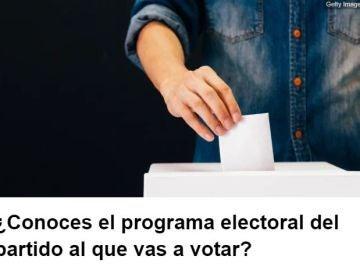 Test medidas electorales
