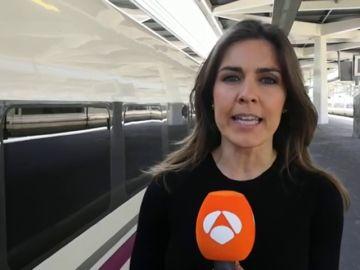 """Elena Salamanca, periodista de Antena 3 Noticias en la caravana del PP: """"Casado se muestra convencido de que puede ganar las elecciones"""""""