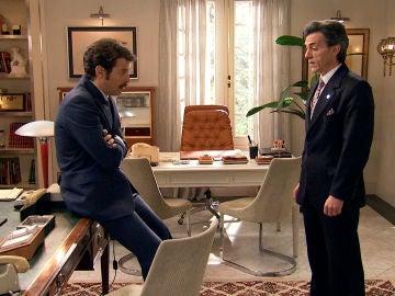 Carlos pide ayuda a Domingo para que declare contra Gabriel
