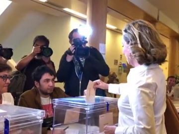"""Ana Oramas, candidata de Coalición Canaria, pide a la ciudadanía que acuda a votar de forma """"masiva"""""""