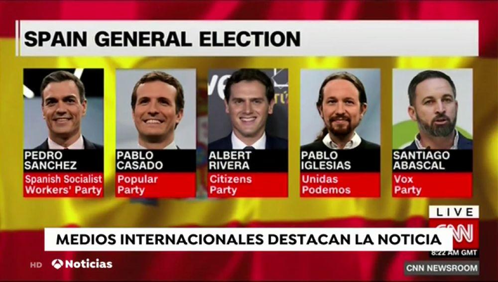 La prensa internacional, pendiente de las elecciones del 28A