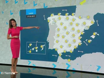 El lunes, probables lluvias en Cataluña y nubosidad de evolución en el interior