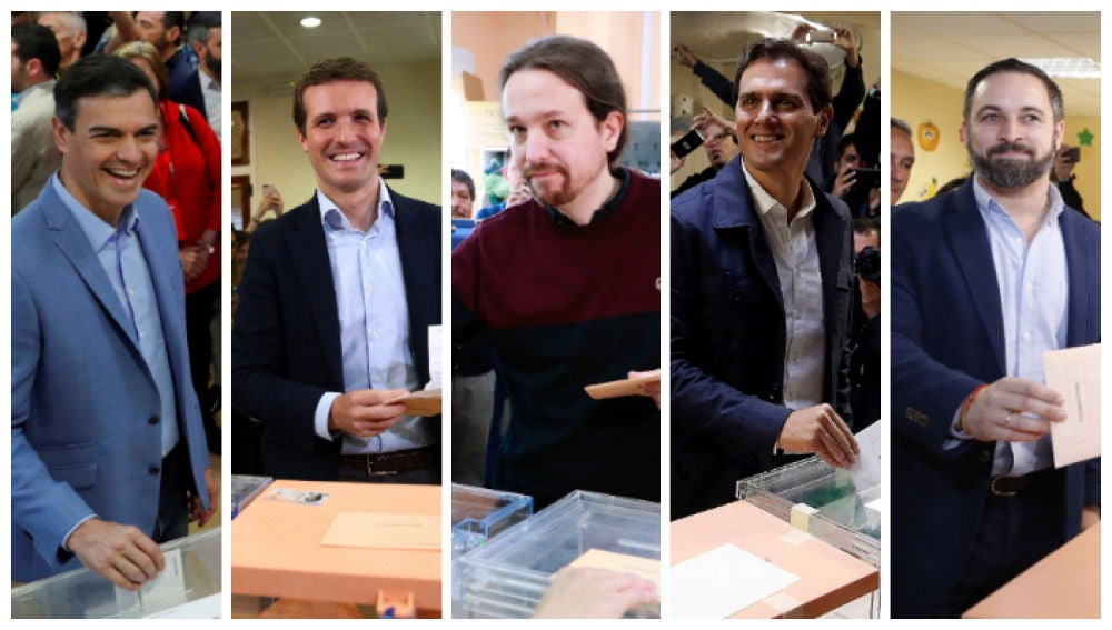 Los candidatos a la presidencia del Gobierno