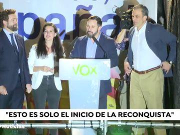 """REEMPLAZO Santiago Abascal valora el resultado del 28A: """"No es momento de la autocrítica, Vox ha hecho una proeza"""""""