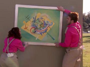 """El jurado alucina con Álex y Naomi: """"Mirad el 'pink power' con el cuadro torcido'"""