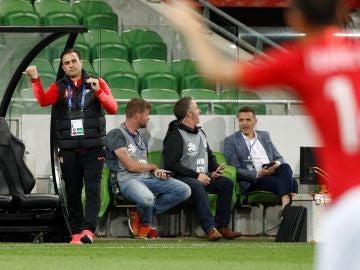 Cannavaro, durante un partido