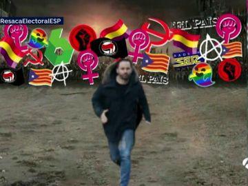El montaje de las redes contra Santiago Abascal