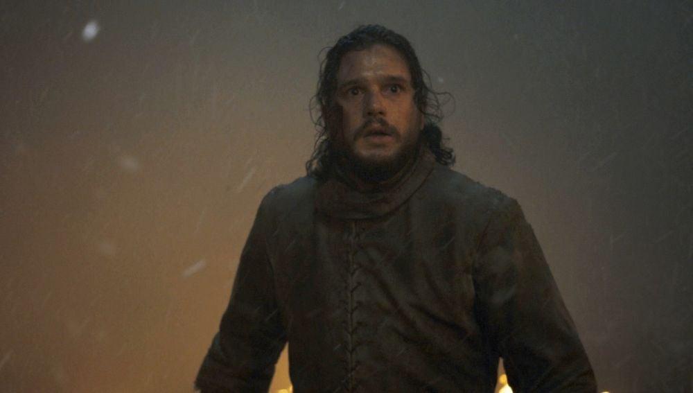 Jon Snow en la temporada final de 'Juego de Tronos'