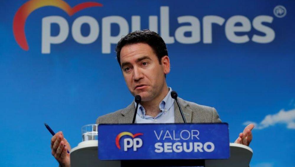 El número dos del PP, Teodoro García Egea