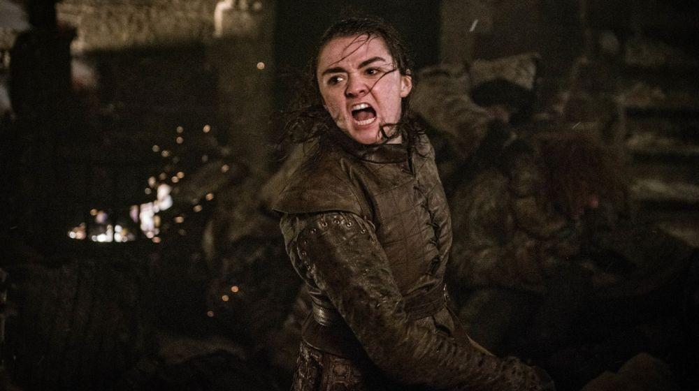Arya Stark en la temporada final de 'Juego de Tronos'