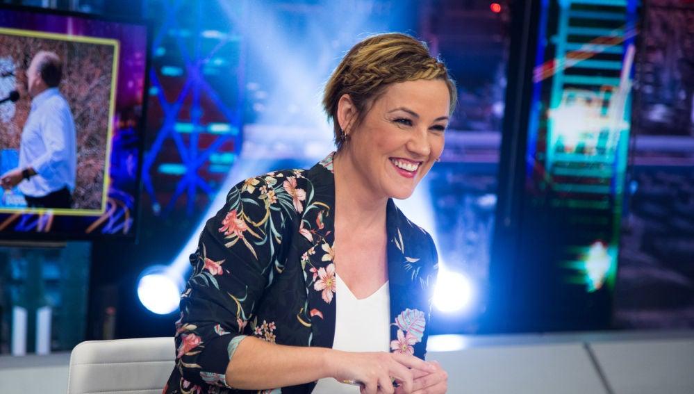 Cristina Pardo repasa en 'El Hormiguero 3.0' los mejores momentos de las campañas electorales de los partidos políticos