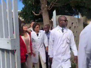 La reina Letizia visita Mozambique en un viaje de cooperación