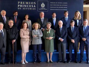 El jurado del Premio Princesa de Comunicación y Humanidades re reúne para elegir el ganador