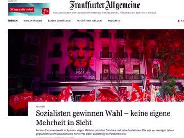 La victoria socialista protagonista en la prensa internacional