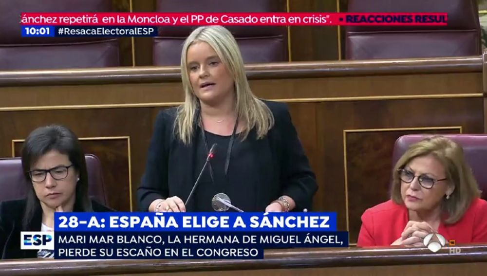 Mari Mar Blanco, hermana de Miguel Ángel Blanco.