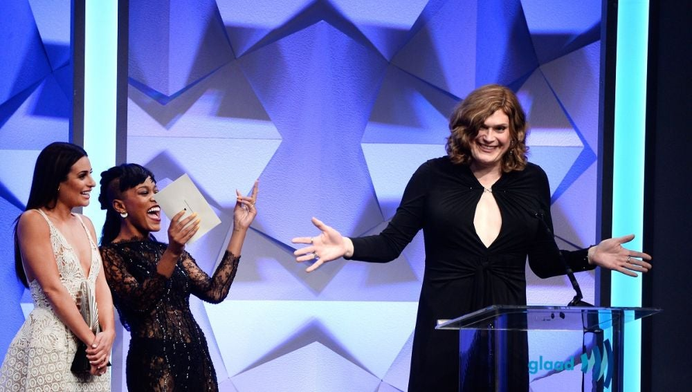 Lilly Wachowski en los GLAAD Media Awards