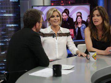 Las opiniones contrarias de Mamen Mendizábal y Sandra Golpe en 'El Hormiguero 3.0' sobre la situación de Cataluña