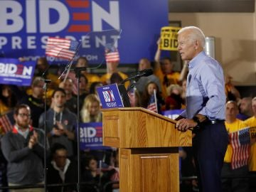 El exvicepresidente estadounidense Joe Biden
