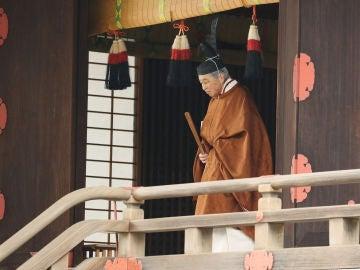 El emperador de Japón Akihito