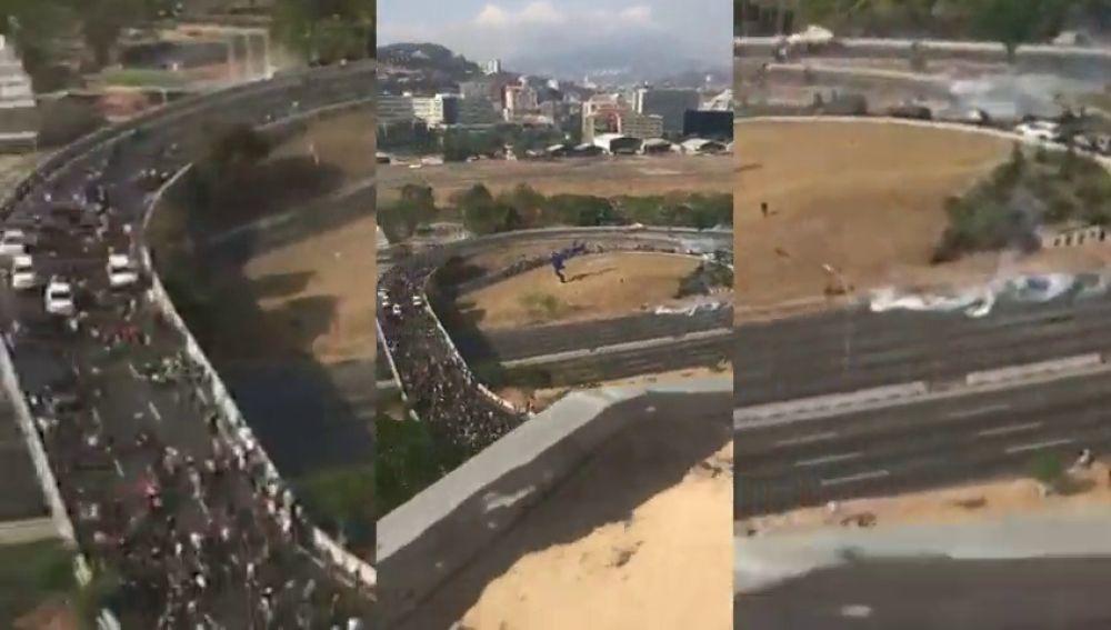 Toman dos ciudadaes en Venezuela
