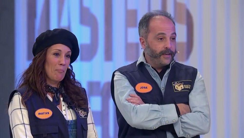 "El primer roce entre José e Iratxe: ""¿Ha dicho que le entorpezco?"""
