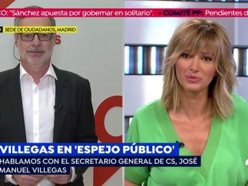 """José Manuel Villegas, sobre un pacto con el PSOE: """" Está claro que no va a haber ese pacto. Nosotros estaremos en la oposición"""""""