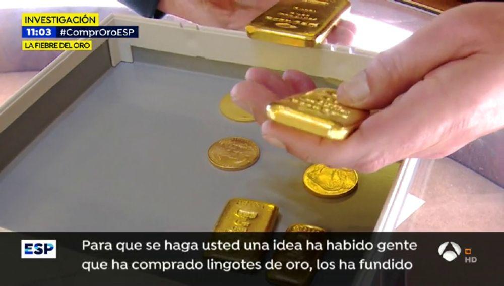 Comprar oro, la nueva forma de ahorrar