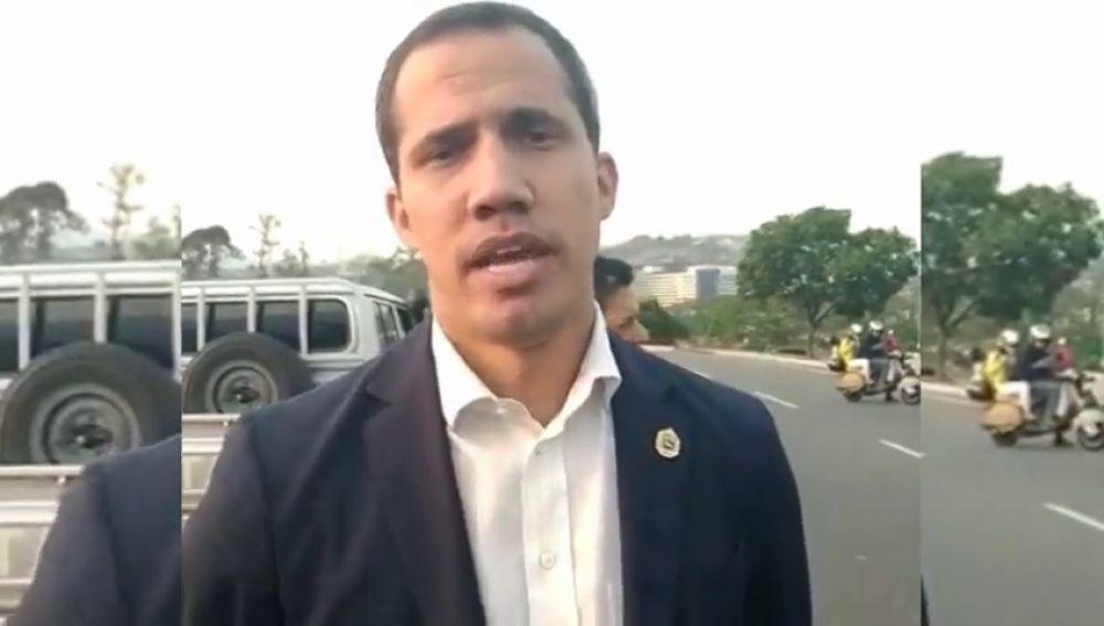 Nuevo mensaje de Juan Guaidó
