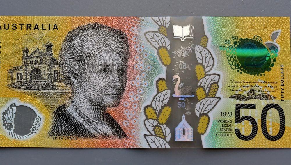 Australia emite 46 millones de billetes con un error ortográfico